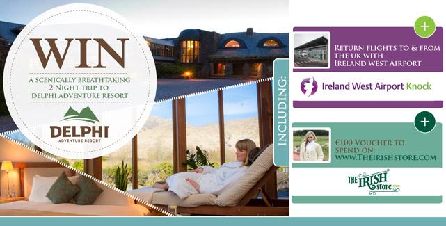 Win a scenically breathtaking 2 night trip to Delphi Adventure Resort.
