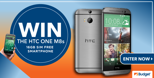 Win HTC One M8s with Budget