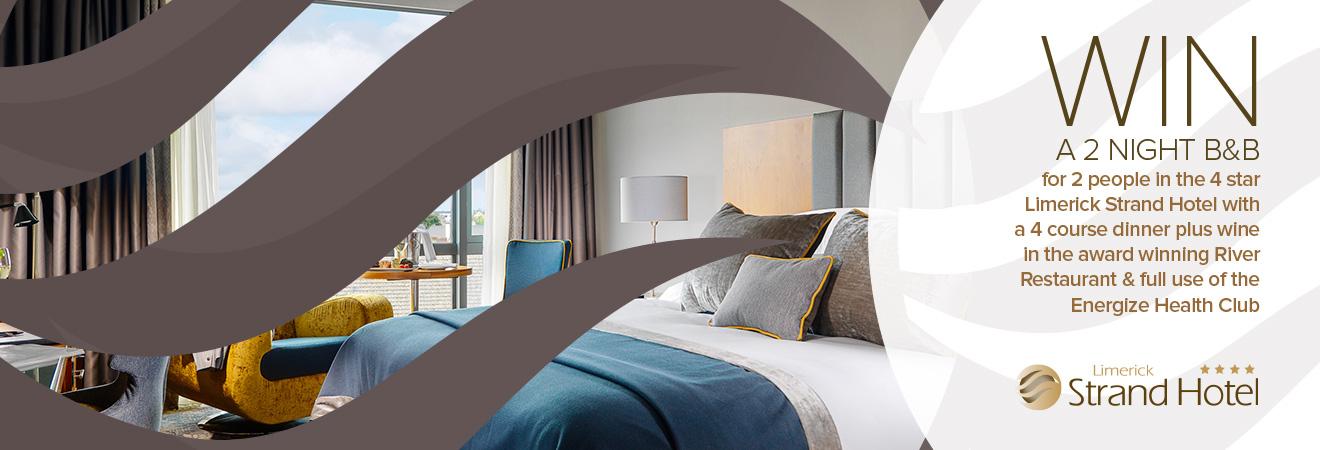 Win a 2 night hotel break in Licerick City