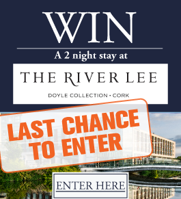 Win a 2 night stay at The River Lee Hotel