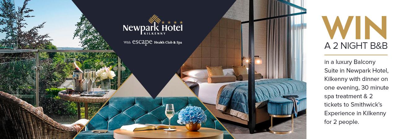 Win a 2 night hotel break in Kilkenny