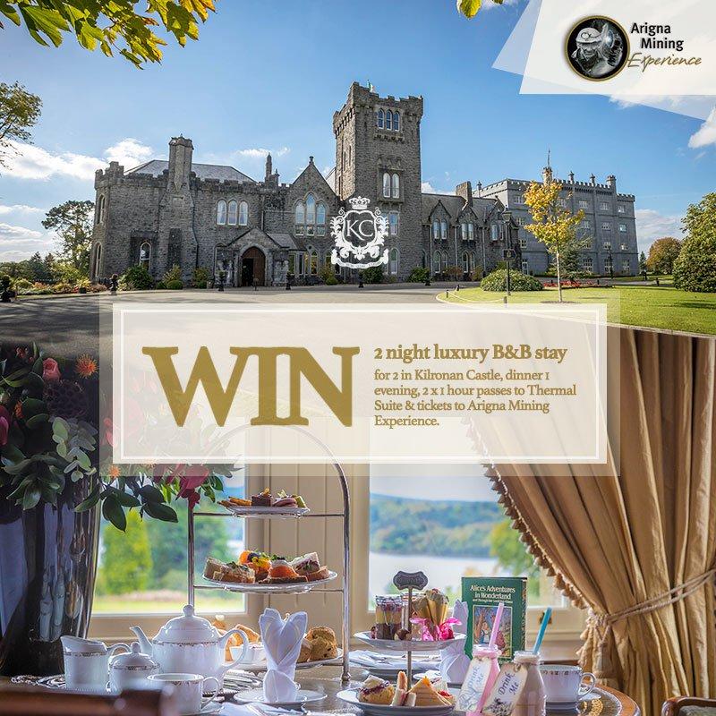 WIN a 2 night luxury stay in Kilronan Castle