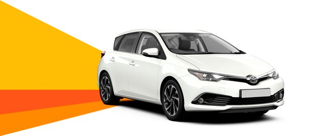 toyota auris four door automatic
